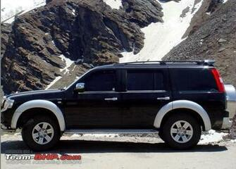 Car Wallpaper Ford Endeavour 30L 4x4 Car Wallpaper