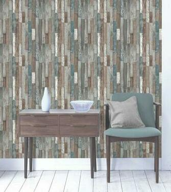 Fine Decor Reclaimed Wood Wallpaper   Multi FD40888