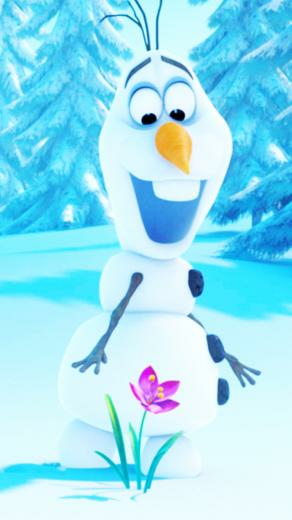 Frozen Olaf iPhone wallpaper
