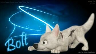 Bolt Dog Disney Cartoon Wallpaper