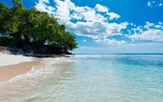 1280x800 Caribbean Beach Turquoise Lake desktop PC and Mac wallpaper