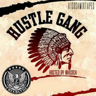 Various Artists Hustle Gang Freebandz Gang front largejpg