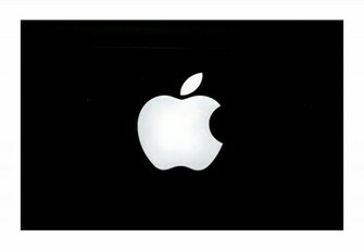 Apple Wallpapers Classic Apple Leopard Logo Black And White On Mac