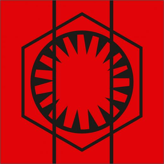 Star Wars The Force Awakens The First Order Logo by OvidiuMUCA on