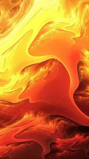 20 Fire Art iPhone Wallpapers