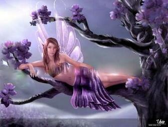 Lovely Fairy Angel Wallpaper   Download Screensavers