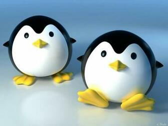 3D Cute Penguin 1152x864 Wallpapers 1152x864 Wallpapers