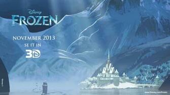 Frozen 3D Disney Cartoons Movies Wallpaper Download