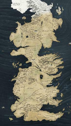 Game of Thrones map Mobile Wallpaper 5230