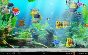 aquarium live wallpaper is an amazing quality active wallpaper now you