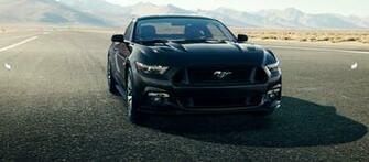 2015 Ford Mustang Black Wide Wallpaper 1987   Grivucom