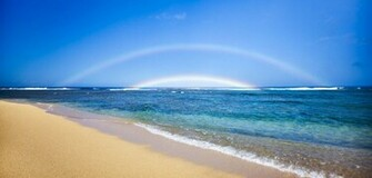 Rainbow Kauai Beach HD Wallpaper Nature Wallpapers