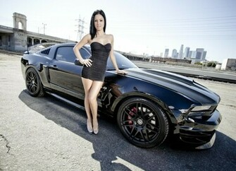 women cityscapes muscle cars ford mustang girls with cars ford mustang