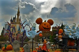 HD Wallpapers Disney Halloween Wallpaper