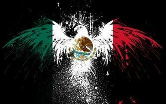 Symbol Wallpaper 1920x1200 Splash Symbol Eagles Flags Mexico