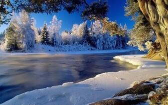 Winter Landscape Desktop Backgrounds HD4Wallpapernet