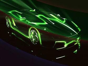 Go Back Gallery For Cool Neon Cars Wallpaper