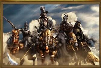 The Four Horsemen by AlwynT