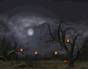 Halloween Night   Animated Wallpaper   This is the image displayed by