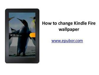 How to change kindle fire wallpaper