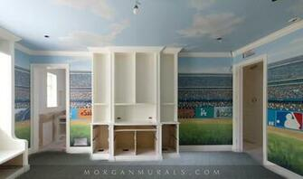 stadium wallpaper bedrooms