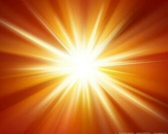 Orange light burst background PSDGraphics