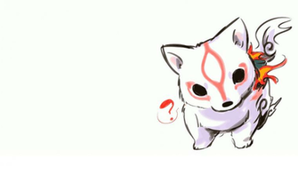 cute okami chibi amaterasu HD Wallpaper   Anime Manga 114605