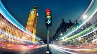 City Lights Desktop Wallpaper   Full hD at Night
