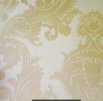 wallcoverings wallpapers walls flock velvet wallpaper beige flock and