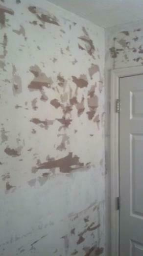 Repairing drywall after removing wallpaper   DoItYourselfcom