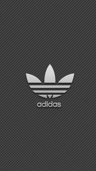 Download Wallpaper 640x1136 Adidas Brand Logo iPhone 5S
