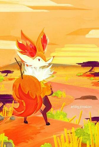 Braixens View by jcroxas
