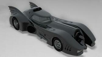 1989 Batmobile x Batmobile D Model for ds Max Maya Cinema D Lightwave