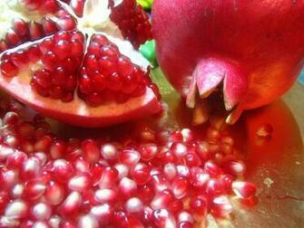 Cool Pomegranate Fruit Wallpaper Desktop Wallpaper with 2400x1800