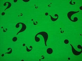 The Riddler Question Mark Wallpaper Riddler