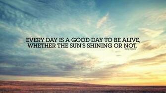 Good Morning HD Quotes Wallpaper