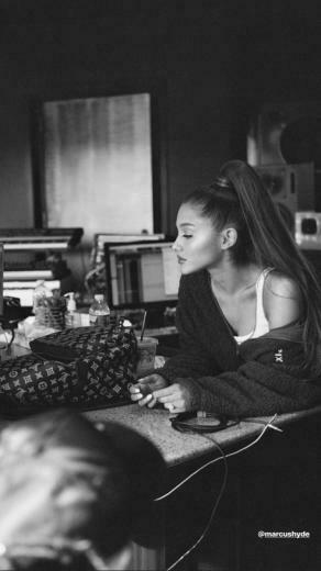 Ariana Grande Thank You Next In Studio   Android Red