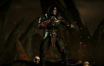 Wallpaper dark Liu Kang Mortal Kombat X revenant emperor mkx