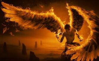 demon satan occult manipulation cg digital art wallpaper background