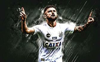 Download wallpapers Eduardo Sasha black stone Santos FC