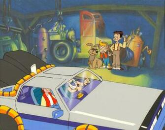 Back to the Future Animated Series Production Cel   Back to the