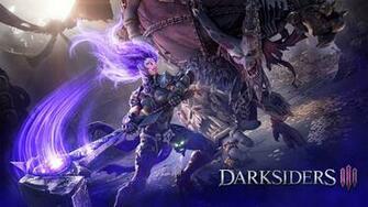 Fury against demon Wallpaper from Darksiders III   gamepressurecom