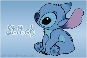 Cute Disney Stitch Wallpaper Stitch colored by eilyn chan