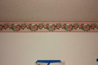 Living Room Wallpaper Border design ideas and photos Home Design