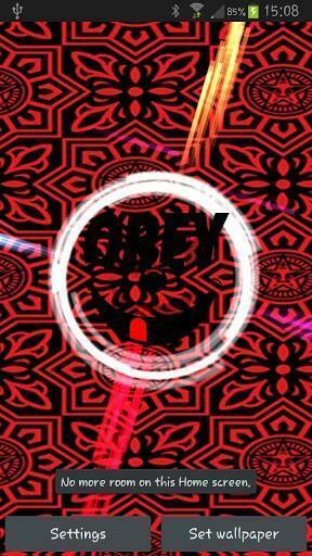 Obey Wallpaper Iphone 5 Obey live wallpaper