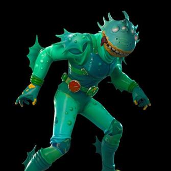 Moisty Merman Featured in 2019 Merman Character design