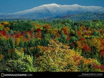 Vermont and New Hampshire Autumn Foliage 1997 Photo of the Day