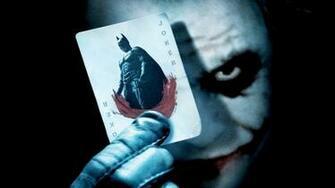 Batman Joker Card Wallpapers HD Wallpapers