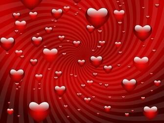 VALENTINE wallpapers   Red Valentine Hearts wallpaper
