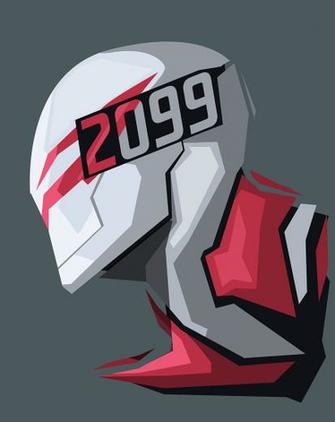 Spider Man 2099 gray background Marvel Comics wallpaper